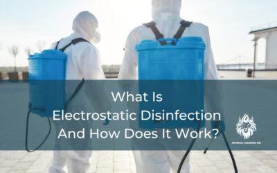 What Is Electrostatic Disinfection And How Does It Work?