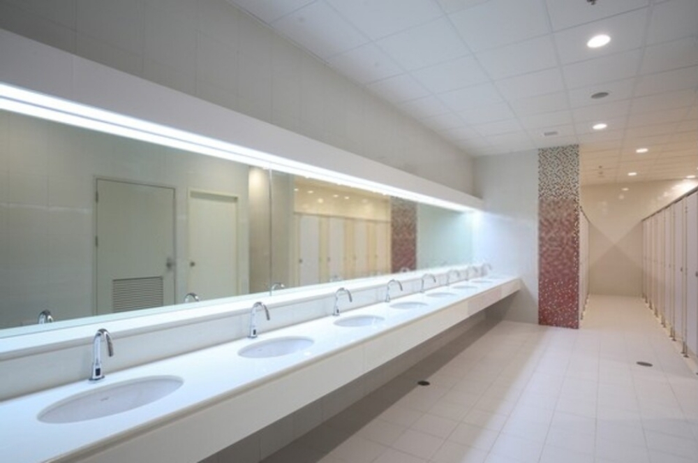 Government Cleaning Services - Bathroom Cleaning