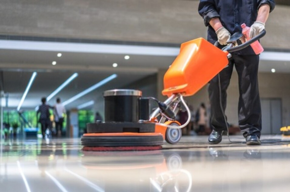 Hard Surface Floor Commercial Cleaning Services